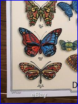 Dead and Company Summer 2019 EMEK Butterfly Poster #66