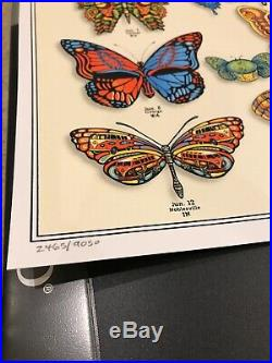 Dead and Company Summer 2019 VIP Poster Signed by EMEK