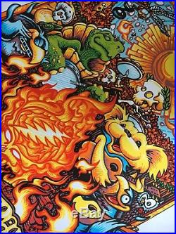 Dead and Company Summer Tour 2018 Poster, Saratoga, Boulder, Raleigh, NOLA etc