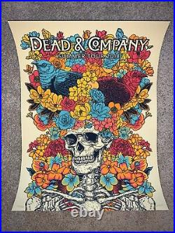 Dead and Company Summer Tour 2018 VIP Poster