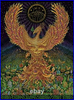 Dead and Company Summer Tour 2021 VIP Poster Numbered and Signed by Artist EMEK