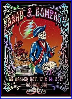 Dead and Company Tour Poster Boston 387/850