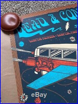 Dead and & Company UNCUT Poster Hampton Coliseum 2019 A/P S/N X/50 Justin Helton