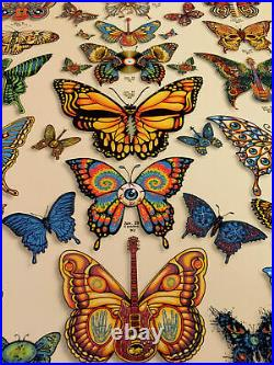 Dead and Company VIP 2019 BUTTERFLY Poster EMEK Signed and Numbered