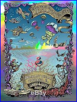 Dead and Company Wrigley Poster by Dubois & Masthay SIGNED ARTIST EDITION LE