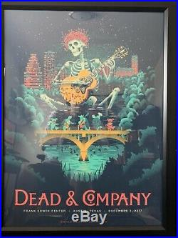 Dead and Company poster 2017 Austin Poster