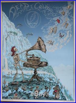Dead and Company poster- Autzen Stadium Eugene, OR 6-30-18 Mike DuBois