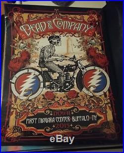 Dead and Company poster Buffalo New York 11/11/2015 Rare