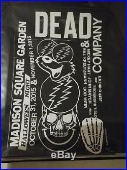 Dead and Company poster MSG Madison Square Garden New York 10/31/15 #37/100 Kost