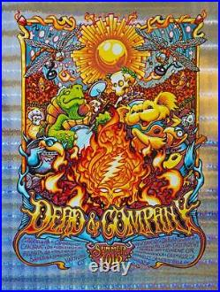 Dead and Company poster (Stained glass foil)