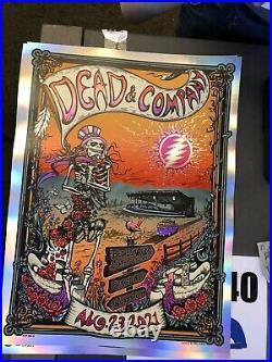 Dead and Company poster Woodstock Bethel NY 8/23/ wpwq