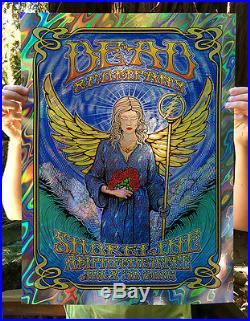 Dead and Company poster by Dave Hunter Shoreline Lava Foil Variant