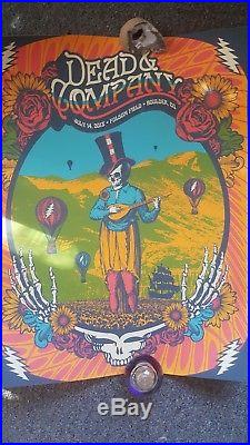 Dead and company boulder 2018 poster 7/14/18 #748, 800
