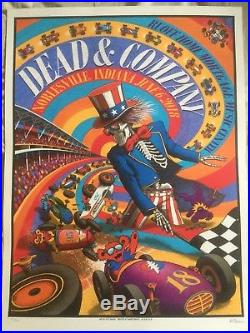 Dead and company poster Noblesville Deer Creek GDP 2018 Signed Limited Edition