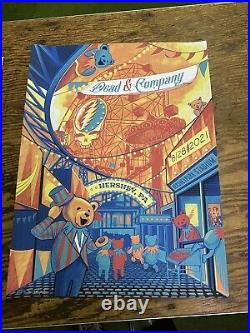 Dead and company poster hershey park Limited Edition! 567/1260