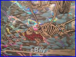 Dead and company poster lava foil #13/50(let there be songs)