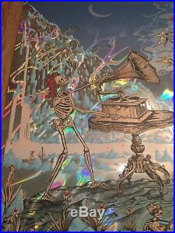 Dead and company poster lava foil (let there be songs)