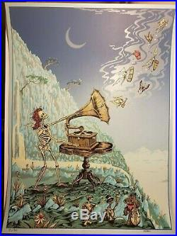 Dubois Poster'Let There Be Songs' Rare Dead & Company Grateful Phish GOT Vinyl