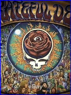 EMEK Grateful Dead 1973 Print Winterland Giclee Poster Sold Out Mint Condition