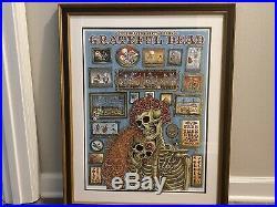 EMEK Grateful Dead Art Poster Print Chicago Soldier Field Fare Thee Well GD50