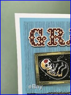 EMEK Grateful Dead Fare Thee Well Poster Signed and Numbered GD50 Chicago 2015