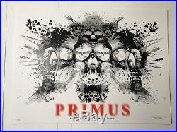 EMEK Primus Print Concert Poster Los Angeles Slayer Forum Tool NIN Grateful Dead