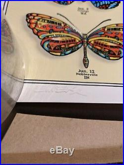 EMEK Studios Dead & Co. Summer Tour 2019 Butterflies Poster XXX/200 Artist AE