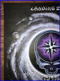 EMEK The Dead Spring Tour 09 Grateful Dead Poster Art Print Mint Sold Out KAWS