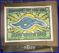 Electric On The Eel Poster Jerry Garcia Band