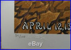 Emek 2013 Coachella Artist Edition Screenprint In Mint Condition