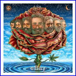 Emek Bicycle Day 2020 Jerry Garcia Print Poster Grateful Dead Sold Out