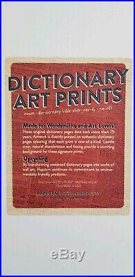 Emek -Dead Dictionary Couple2017 First Edition # 176 of 20011 x 14