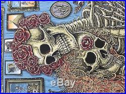 Emek Grateful Dead Fare Thee Well Chicago Poster AP xx/15