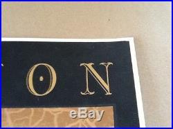 Emek Paul Simon Santa Barbara Velvet Poster mint signed # only 15 copies printed