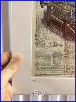 Emek Vintage Typewriter Dictionary Page Grateful Dead GD50 Poster Print