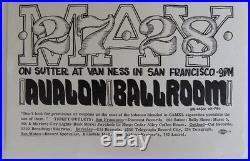 Family Dog Original 1966 Flyer Fd-10 Hayfever Leaves Grateful Dead Vf Wes Wilson