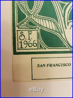 FD-33 Logo Poster Original 1st printing Grateful dead