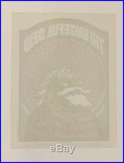FD 40 Grateful Dead And Moby Grape Original 1966 Concert Handbill
