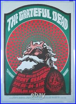 FD 40 OP1 Grateful Dead Concert Poster Moscoso Family Dog Avalon GCG GRADED 9.4