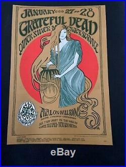 FD-45-1 Kelly/Mouse Grateful Dead Poster Family Dog Could Be Later Printing