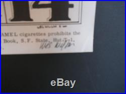 FD-8-OP-1 Wes Wilson signed poster BG, AOR, Grateful Dead