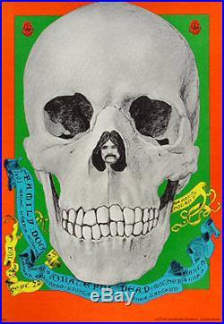 FD # 82-1 Grateful Dead Mother Earth Family Dog Denver 1967 Poster FD82 D. Nolan