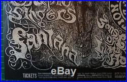 Fillmore Bill Graham Grateful Dead Poster Lee Conklin Bg134 First Printing