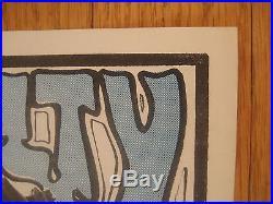 FILLMORE POSTER era 1967 Super rare handbill Mouse Charlatans Trip City