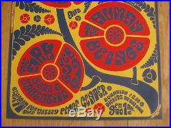 FILLMORE POSTER era Ark Janis Joplin Big Brother 1967 1st printing