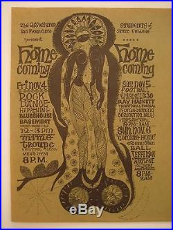 FILLMORE POSTER era EDWARDIAN BALL 1966 SUPER RARE handbill