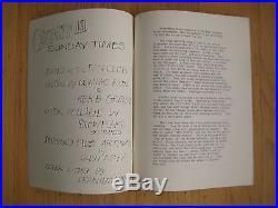 FILLMORE POSTER era GRATEFUL DEAD NEWSLETTER 1967 OLOMPALI SUNDAY TIMES