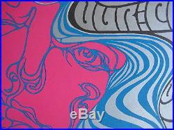 FILLMORE POSTER era WES WILSON 1967 ART EXHIBIT