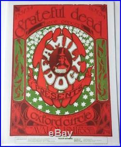 Family Dog FD 33 Handbill At Avalon Ballroom Grateful Dead 11/3-4/1966