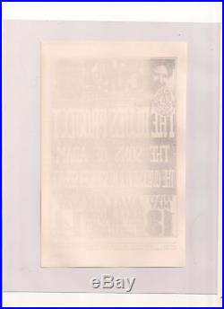 Family Dog FD 8 handbill rare wes wilson (not bg, aor poster)